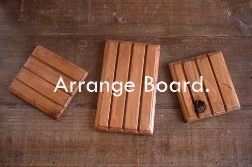 ハンドメイド資材*ウッドアレンジボード