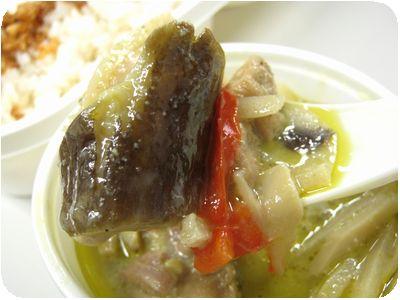 玄米ごはん+豆乳グリーンカレー