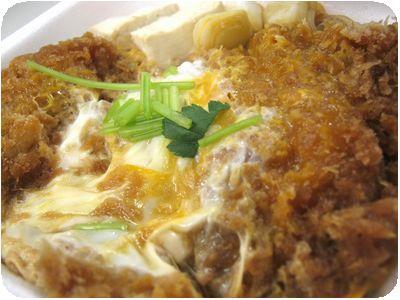 すき焼き風牛カツ丼