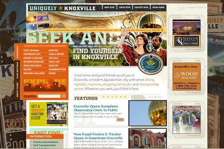 Welcome to Uniquely Knoxville | Knoxville Tourism & Sports Corporation