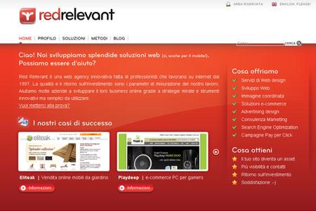 Realizzazione siti web | Red Relevant