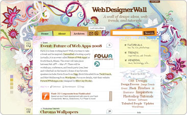 Web Designer Wall - Design Trends and Tutorials