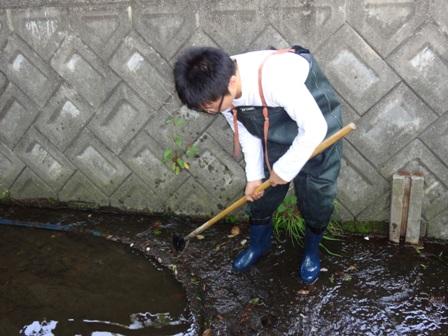 楽音寺川の清掃活do!
