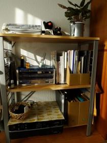 家の中整理・棚×2