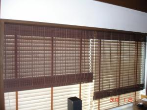 鹿田産業 ローマンシェードかすみKC486の並列