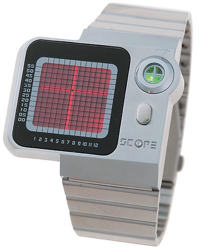 十字スコープ時計