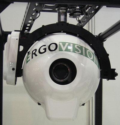 エルゴビジョンのカメラ