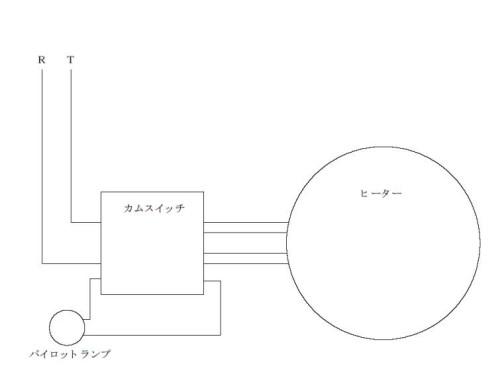 電気コンロ配線