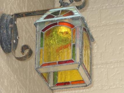 玄関ランプ
