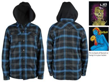 lib-tech THE FORKS HIGH FLANNEL