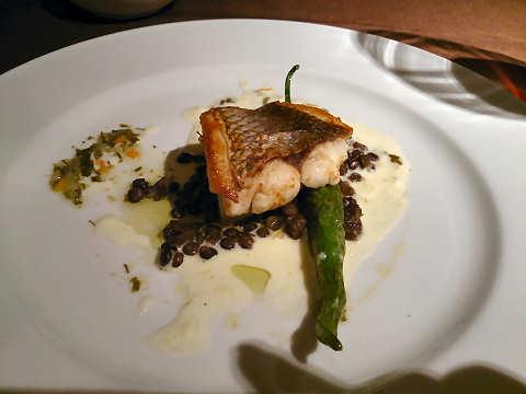 本日の鮮魚料理@ル・クロ・ド・クロ