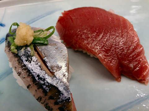 鰹・秋刀魚@がんこ寿司