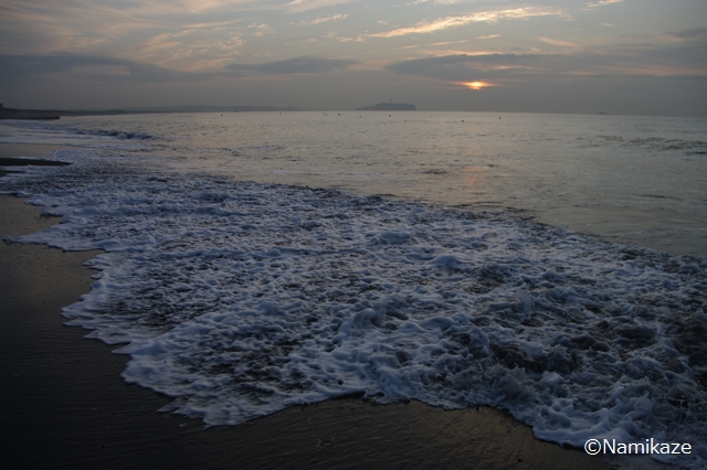 2011/11/30 湘南 茅ヶ崎の海