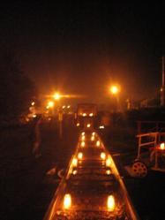 線路の灯り4