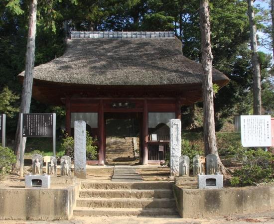 萬福寺(行方市)-重盛所縁の寺 まほらにふく風に乗って